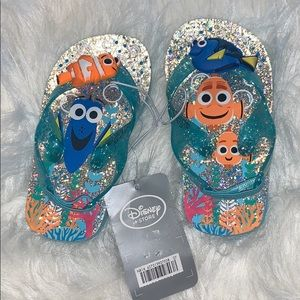 Girls Disney flip-flops